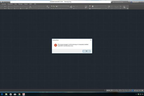 Sửa lỗi License trên AutoCAD
