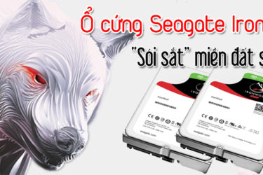 Phân phối ổ cứng Seagate IronWolf chính hãng tại TPHCM