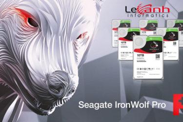 Seagate IronWolf Pro cho NAS đi kèm dịch vụ phục hồi dữ liệu trong vòng 2 năm