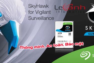 Ổ cứng Seagate Skyhawk chuyên dụng cho hệ thống giám sát Surveillance
